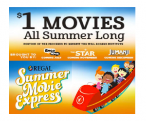 Summer Movies at Regal Cinemas