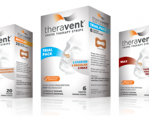 Printable Coupon – SAVE $4 on Theravent Snore Strips