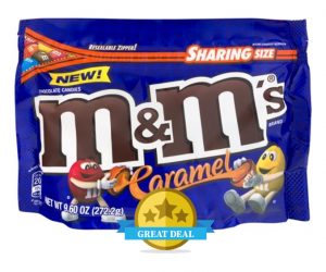 CVS Deal Alert – Caramel M&M's Bags $1 Each