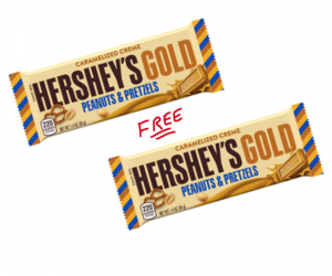 1 Walgreens Deal Alert - Hershey's Gold Candy Bars Free