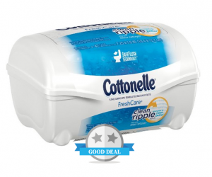 Walmart Deal Alert – Cottonelle Cloths $0.92