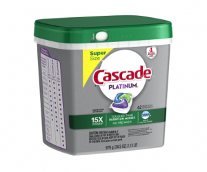 Printable Coupon – SAVE $4 on Cascade ActionPacs