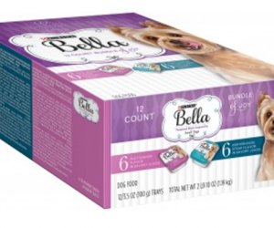 Printable Coupon – SAVE $5 on Bella Wet Dog Food Multipack