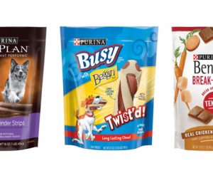 Printable Coupon – SAVE $1 on Purina Dog Treats, 16oz+