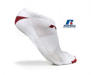 Russell Athletic Low Cut Socks Pack of 12 $7.99