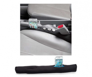 Sharper Image Auto Seat Gap Filler/Organizer 60% Off