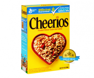 CVS Deal Alert – Cheerios ALA $1.38 after ECB
