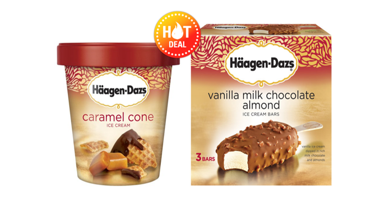 photo relating to Haagen Dazs Coupon Printable known as CVS Package Inform - Haagen Dazs ALA $1.98