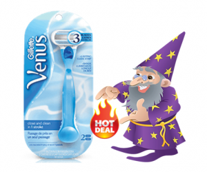CVS Deal Alert – Venus Razors ALA $0.99 each after ECB