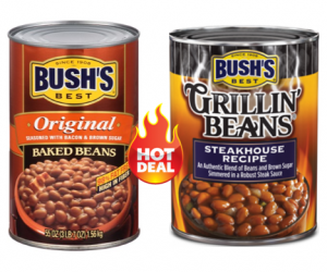 Publix Deal Alert – Bush's Baked or Grillin' Beans $0.56 Each