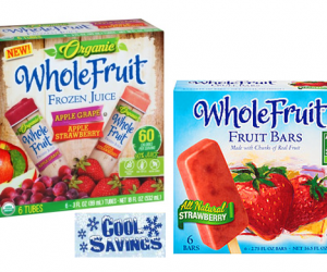 Publix Deal Alert – Whole Fruit Bars or Tubes $1
