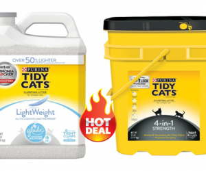 Target Deal Alert – Tidy Cats Litter ALA 72% Off after GCs