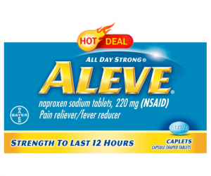 Walgreens Deal Alert – Aleve Pain Relief $0.49
