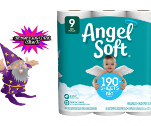 Walgreens Deal Alert – Angel Soft, 9 Rolls, $2.49