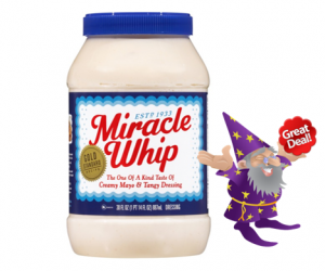 1 Walmart Deal Alert - Kraft Miracle Whip Wiz