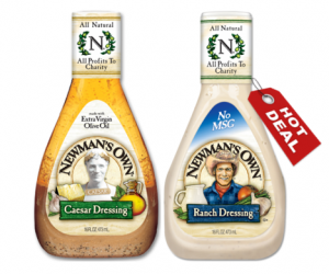 Walmart Deal Alert – Newman's Own Dressing $0.98