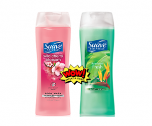 Walmart Deal Alert – Suave Body Wash $0.13