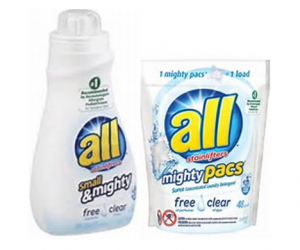 Printable Coupon – SAVE $1 on all Free & Clear