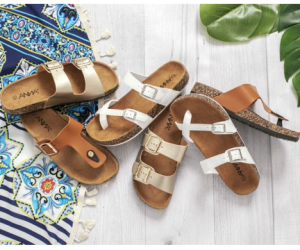 Cents of Style - Cork Sole Sandals