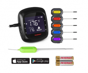 Digital Meat Thermometer from Tenergy Solis *50% Off