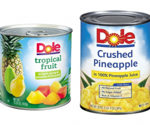 Printable Coupon – SAVE $0.75 on Dole Canned Fruits, 15oz