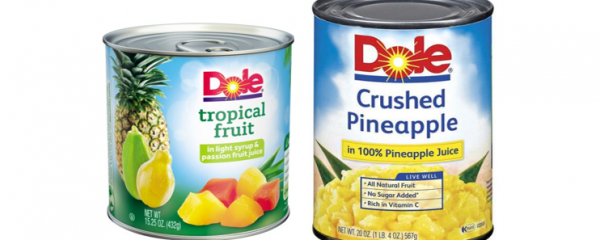 Dole Canned Fruits 15oz+ new
