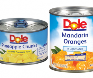 Printable Coupon – SAVE $0.65 on Dole Canned Fruits, 8oz