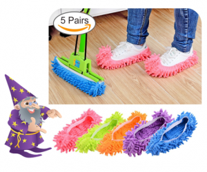 Dusting Mop Slippers *$2.46 a Pair on Amazon