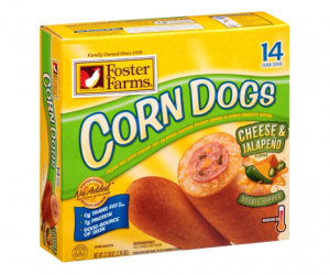 Printable Coupon – SAVE $1.50 on Foster Farms Corn Dogs