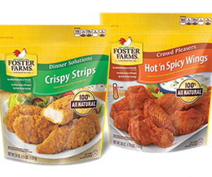 Printable Coupon – SAVE $2 on Foster Farms Frozen Chicken