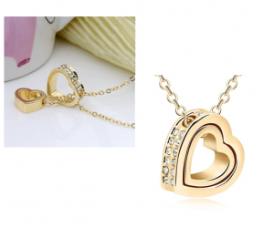 Heart Pendant Necklace – 4 Styles – Only $11.99