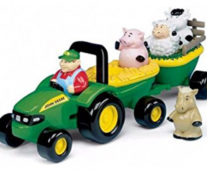 John Deere Animal Sounds Hay Ride 64% Off