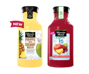 Printable Coupon – SAVE $0.55 on Minute Maid Refresh