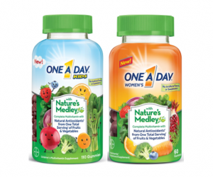 Printable Coupon – SAVE $4 on One A Day Nature's Medley
