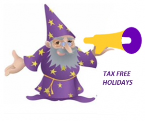 Tax Free Holiday Wizard