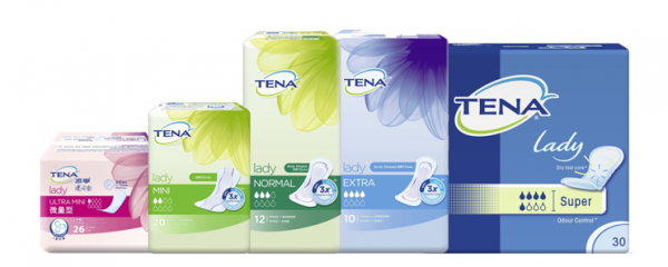 Tena Products new