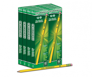 Ticonderoga Pencils – Case of 96 – 69% Off
