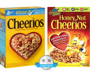 CVS Deal – Cheerios Cereal Only $1.49