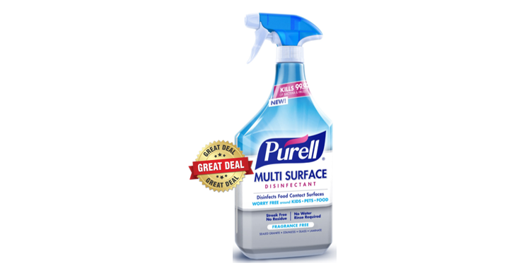 photograph relating to Purell Printable Coupons titled Publix Package Notify - Purell Sanitizer $1