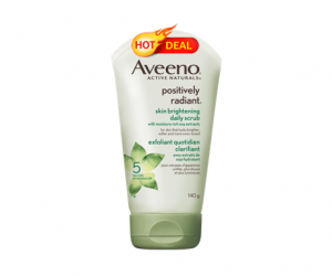 Target Deal Alert – Aveeno Facial Scrubs ALA $0.37 after GC