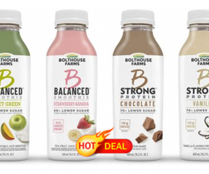 Target Deal Alert – Bolthouse Farms Drinks $0.37