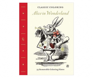 13Deals – Alice in Wonderland Adult Coloring Book