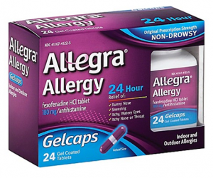 Printable Coupon – SAVE $4 on 1 Allegra Allergy, 24ct+