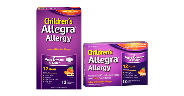 photo about Allegra Printable Coupon identify Printable Coupon - Help you save $4 upon Childrens Allegra -