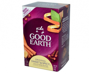 Printable Coupon – SAVE $1 on Good Earth Tea