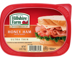 Printable Coupon – SAVE $1 on Hillshire Farm Lunch Meat