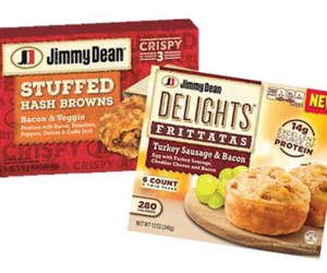Printable Coupon – SAVE $1 on Jimmy Dean Frozen Products