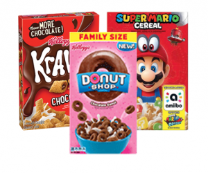 Printable Coupon – SAVE $0.50 on Krave, Donut Shop or Super Mario