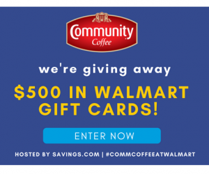 Magical Giveaway – Community Coffee & Walmart