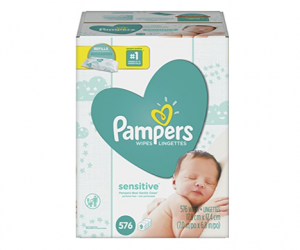 Pampers Sensitive Wipes Refills ALA $0.02 a Wipe